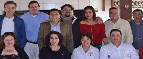 Reunión del Equipo Distrital en Santa Cruz