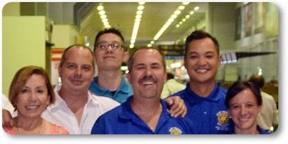 LLego el IGE del Rotary Club East Fresno del Distrito 5230