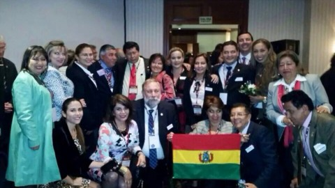 El distrito 4690 participó del XL instituto rotario en Lima, Perú