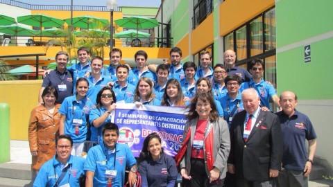 RDR del D-4690 recibe capacitación en Lima Perú