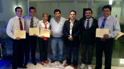 Cinco nuevos socios fueron posesionados en el RC-Patujú