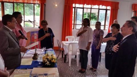 Gobernador de Distrito visita Charagua, Yacuiba y Camiri