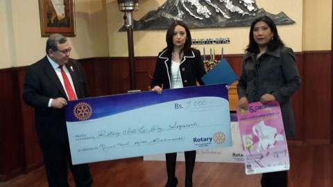 Aporte de Rotary Club Chuquiago Marka a la lucha contra el cancer de mama