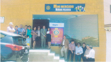 Rotary Club Sucre entrega micromercado a través de LFR