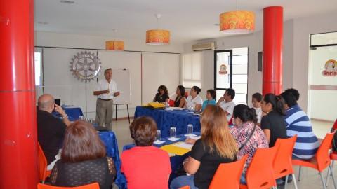 Rotary Leadership Institute realiza Curso 1 en la ciudad de Santa Cruz