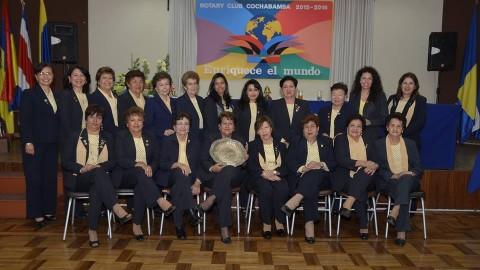 La Rueda Femenina de Rotary Club Cochabamba gira de nuevo.