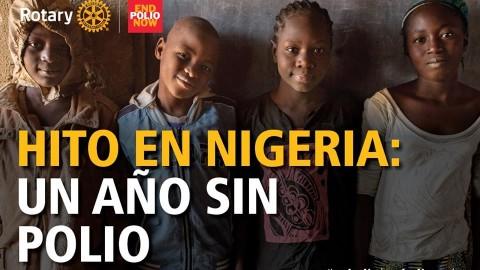Hito En Nigeria, Un Año Sin Polio