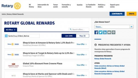 ¿Qué es Rotary Global Rewards?