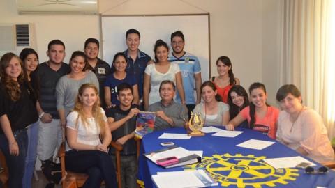 En el Rotaract Santa Cruz se habla de proyectos e imagen pública