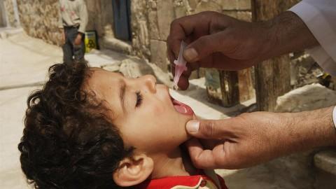 UNICEF y la OMS apoyan una masiva vacunación contra la polio en Iraq