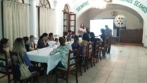 Visita de c.r. Marlene Gutiérrez al Club Patujú