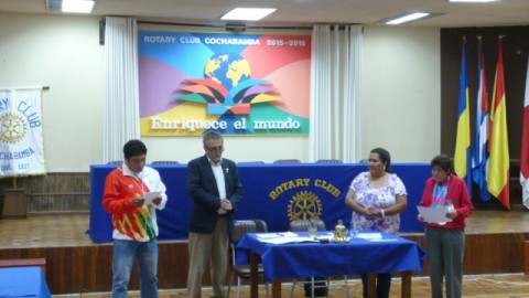 Visita del Dr. Pablo Vergara a RC Tunari