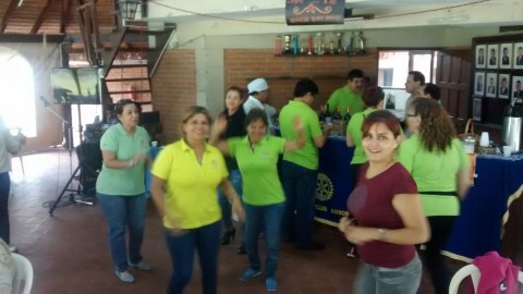 Kermesse Solidaria y de Confraternización del Rotary club Amboro y las Damas