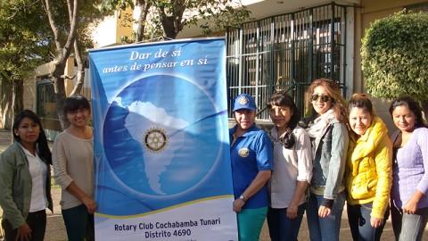 Rotary Club Tunari y la 12ava Visita Odontologica
