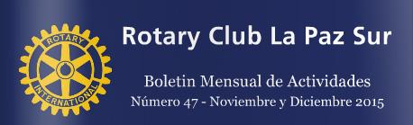 Boletín del Rotary Club La Paz Sur