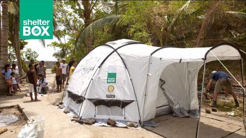 Rotary Shelterbox presentes en Haití
