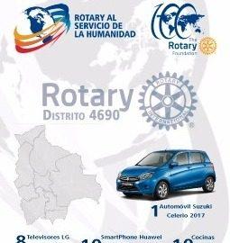Aporte para Programas Humanitarios de la Fundacion Rotaria 2017