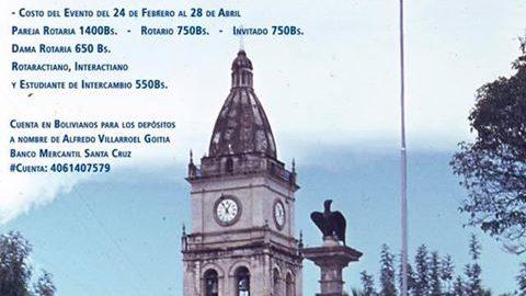 LXXVIII Conferencia Distrital «EDG Luis Lacunza Gomez – La Fundacion  Rotaria 100 Años sirviendo en el mundo»