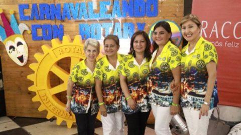 Carnavaleando con Rotary