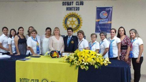 Visita Rotary Club Montero