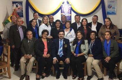 Visita oficial  Rotary Club Vallegrande