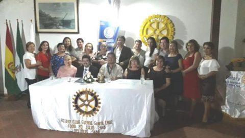 Visita oficial  Rotary Club Güembé