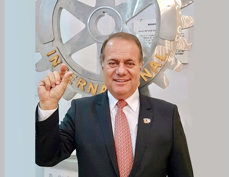 Luis Fernando Barbery Paz – Gobernador Gestión 2020-21
