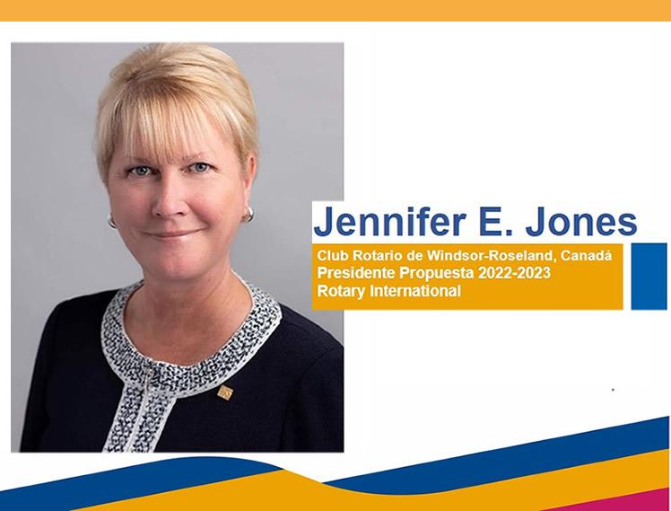 Jennifer E. Jones Presidente Propuesta 2022-2023
