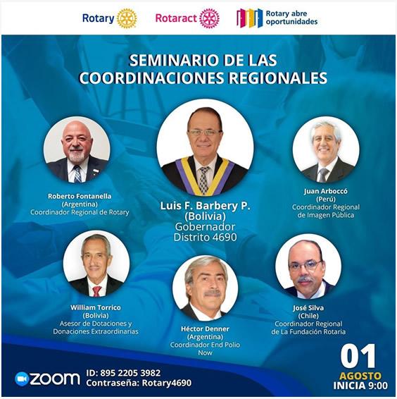 Seminario de las Coordinaciones Regionales