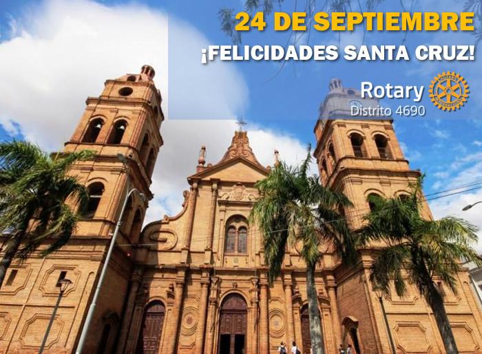 ¡Muchas Felicidades Santa Cruz!