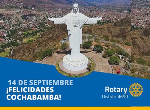 ¡Felicidades Cochabamba!