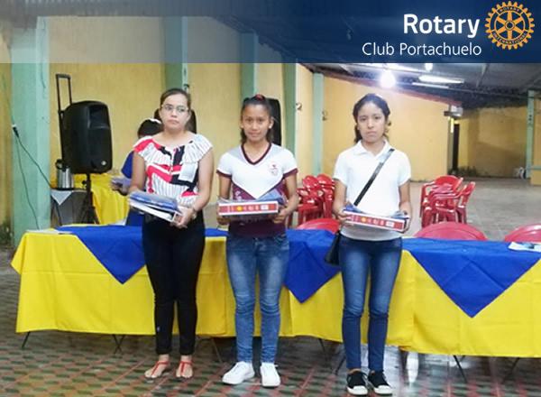 RC PORTACHUELO: Reconocimiento a los mejores estudiantes