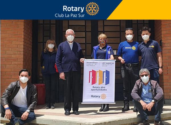 RC LA PAZ SUR: Culminó con éxito la campaña a favor del Hospital San Juan de Dios