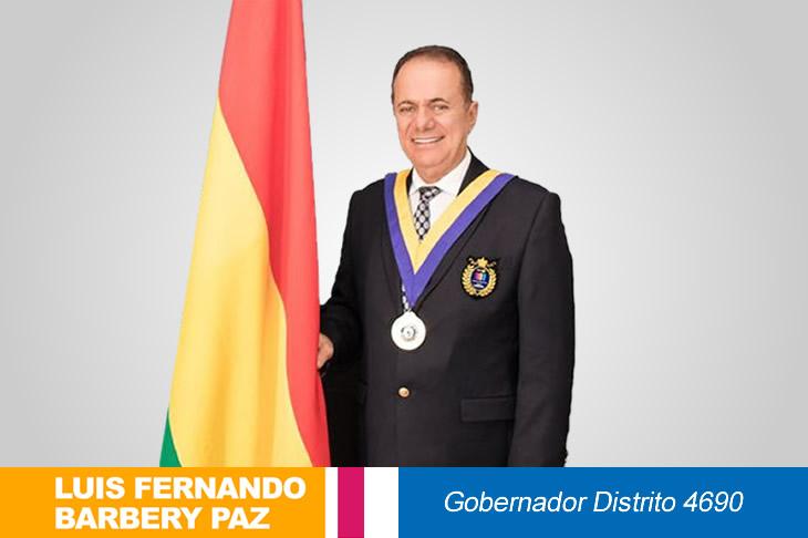 NOVIEMBRE 2020: Mensaje Gobernador Distrito 4690