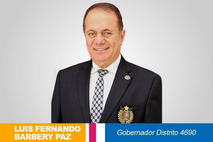ENERO 2021: Mensaje Gobernador Distrito 4690
