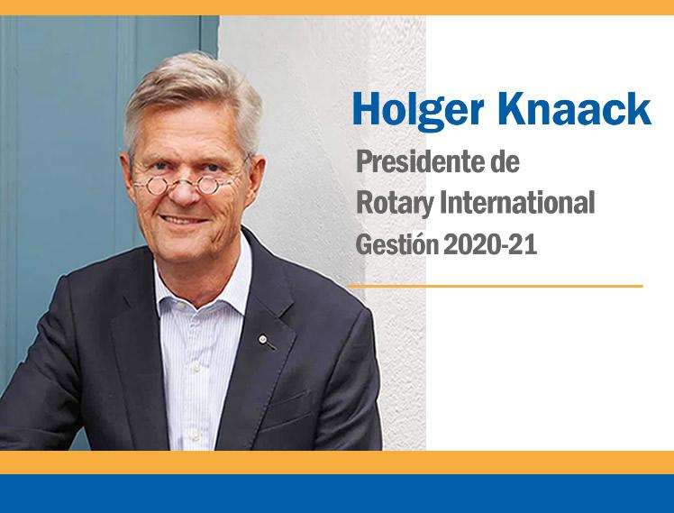 Mensaje del Presidente de RI Holger Knaack:  Enero 2021