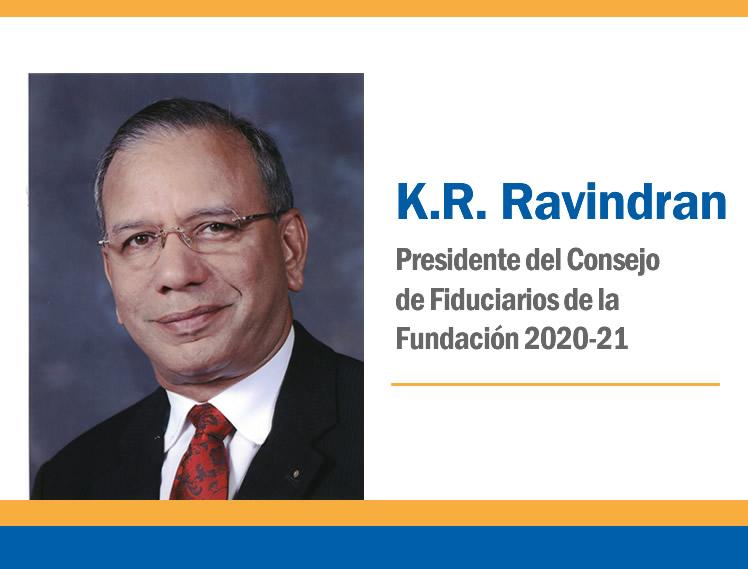 Mensaje del Presidente del Consejo de Fiduciarios: NOVIEMBRE 2020