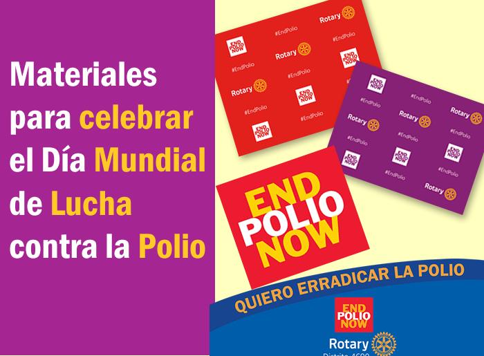 Recursos digitales para celebrar el Dia de la Polio