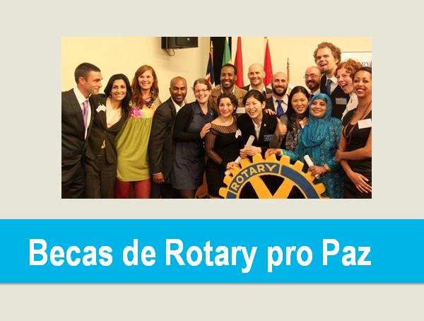 Becas de Rotary pro Paz