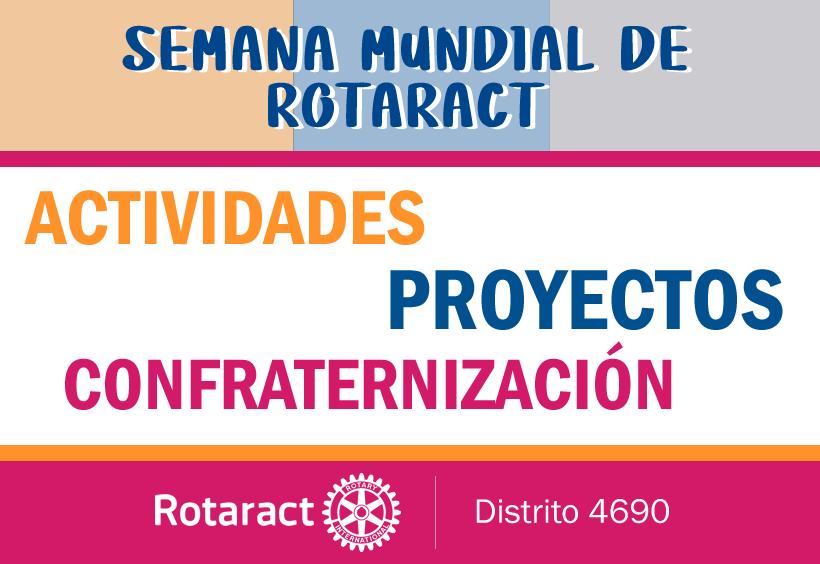 Actividades y Proyectos de Clubes Rotaract – Primer Semestre