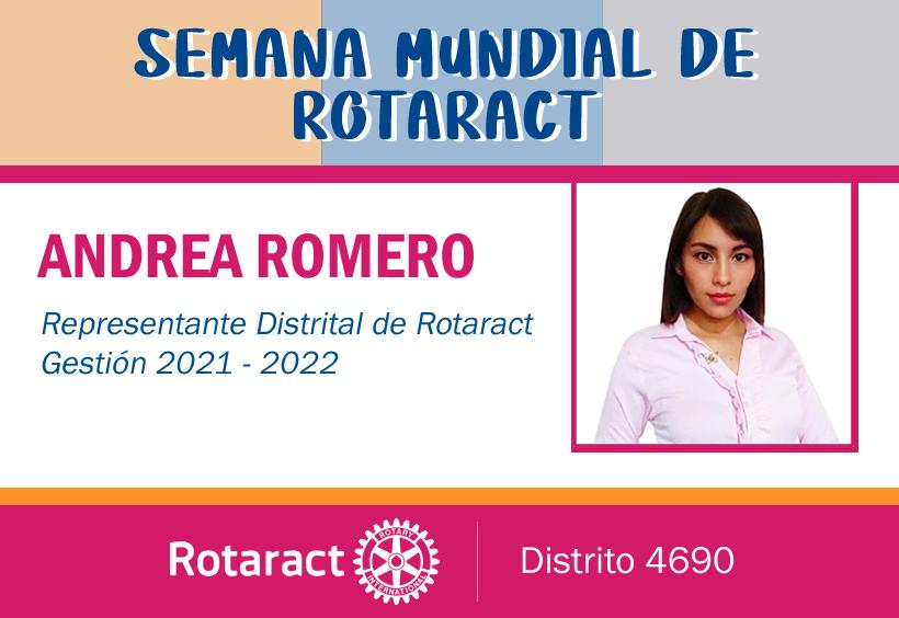 Mensaje del Representante Distrital de Rotaract 2021-2022