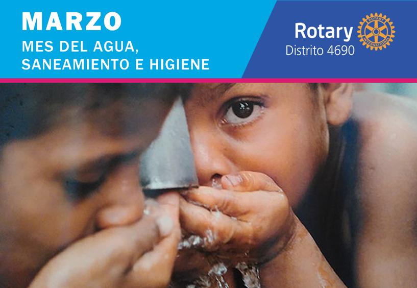 Rotary suministra agua, saneamiento e higiene