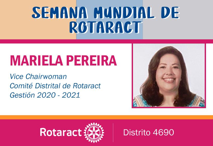 Mensaje de la Vice Chairwoman de Rotaract Gestión 2020-2021