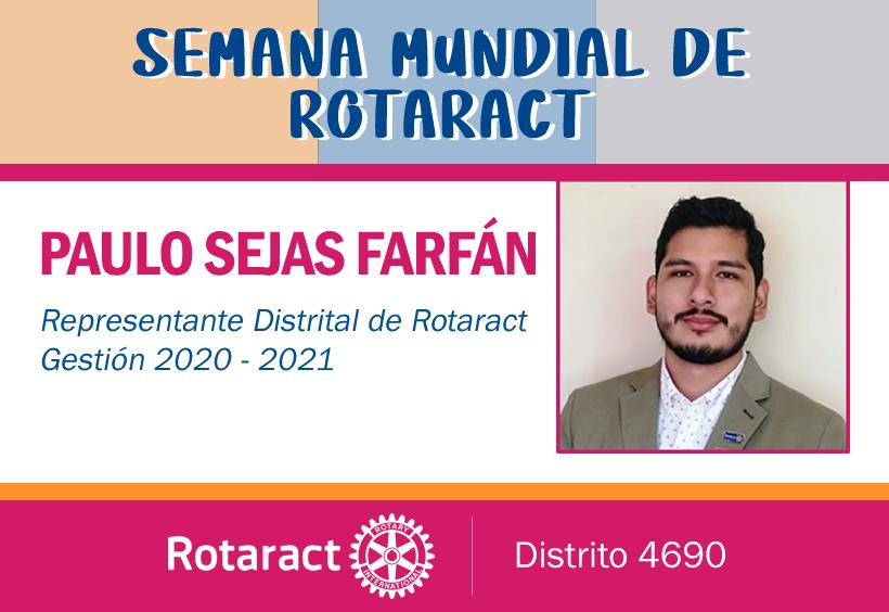 Mensaje del Representante Distrital de Rotaract 2020-2021
