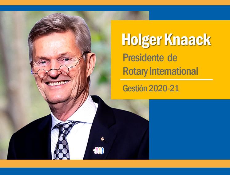 PRESIDENTE DE ROTARY INTERNATIONAL