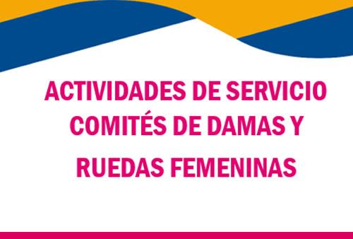 Actividades de Comités y Ruedas Femeninas en Marzo 2021