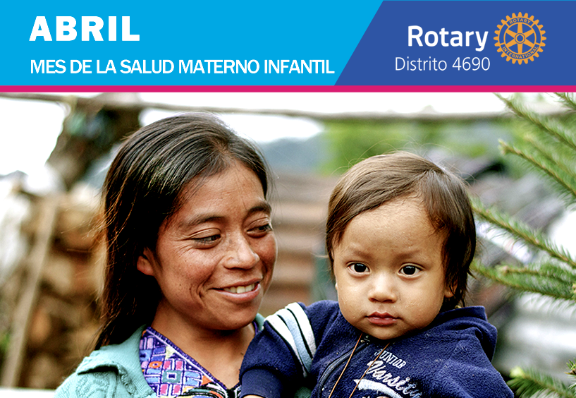 Protección de madres e hijos, un trabajo incansable en Rotary